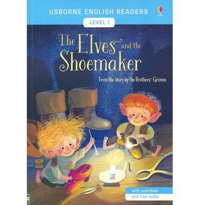 尤斯伯恩經典故事分級讀物1:精靈與鞋匠 英文 USB:The Elves And The Shoemaker 童話故事