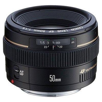 CANON EF 50mm f1.4 USM •EF 50 mm f/1.4 usm  •數位單眼鏡頭・WW