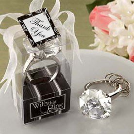 鑽石鑰匙圈 送客禮 婚禮小物