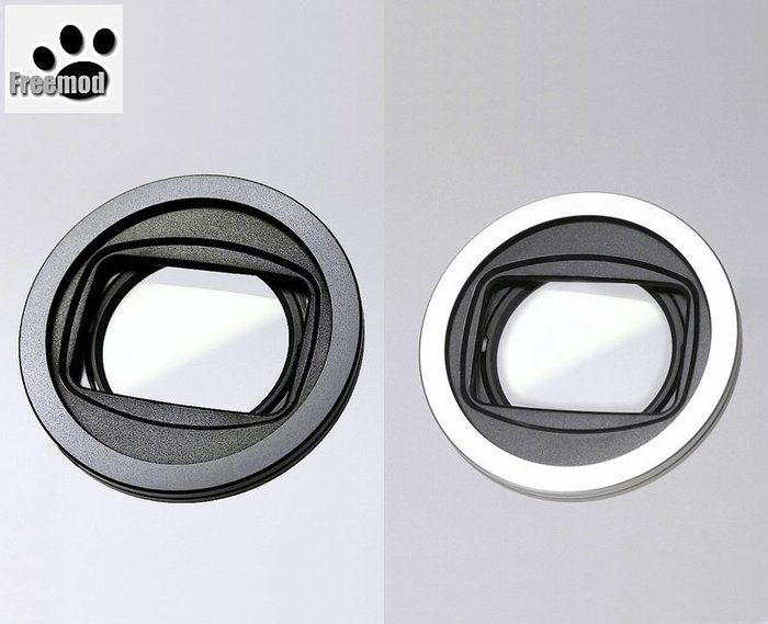 Freemod半自動鏡頭蓋X-CAP2含STC保護鏡40.5mm鏡頭蓋Nikon 1 11-27.5mm F/3.5-5.6 30-110mm F3.8-5.6