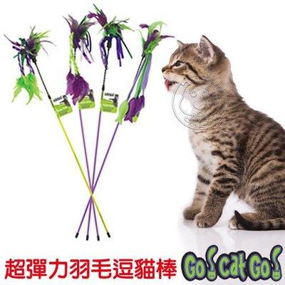 【🐱🐶培菓寵物48H出貨🐰🐹】爆走狂貓《超彈力羽毛逗貓棒》四款造型,隨機出貨 特價169元