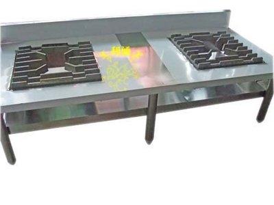 《利通餐飲設備》雙口平口爐(高33cm) →~兩口高湯爐 2口 平口爐 三口爐~