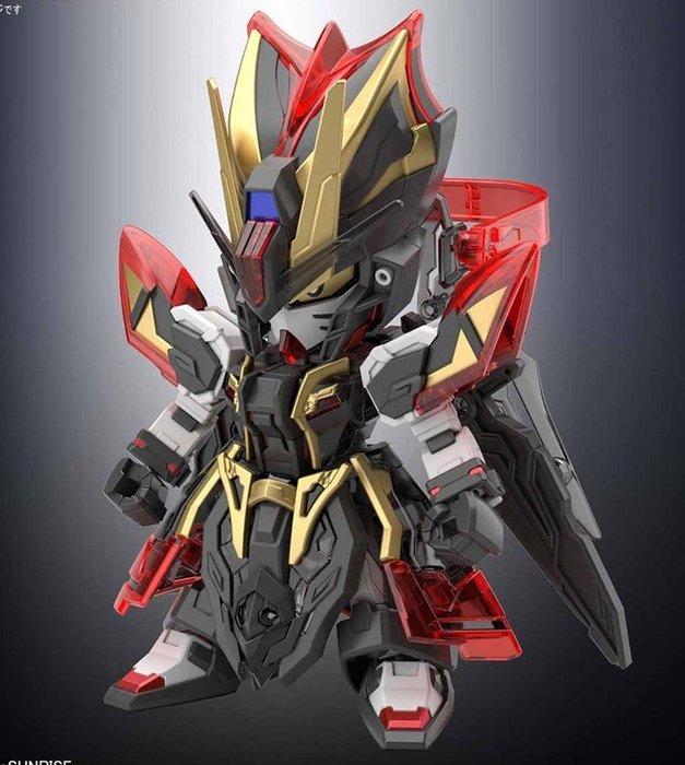 外F : 模型 GUNDAM SD 鋼彈 三國創傑傳 25 荀彧 漆黑攻擊鋼彈  天富玩具店
