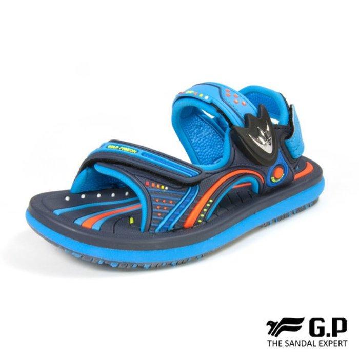 鞋鞋樂園-超取免運-GP-吉比-阿亮代言-兒童簡約休閒涼鞋-兩用鞋-磁扣設計-穿脫方便-GP涼鞋-G8669B-20