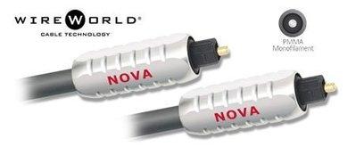 ((線材小舖)) 全新品 WireWorld Nova Optical 光纖連接線