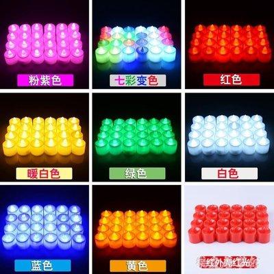 電子浪漫LED蠟燭燈生日求婚表白創意心形情人節布置    SQ9009TW