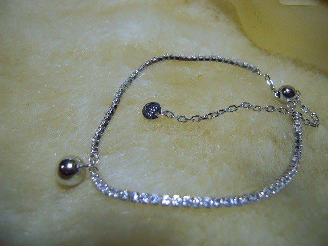※水晶玫瑰※ 925純銀水晶鑽造型手鏈(RD118)
