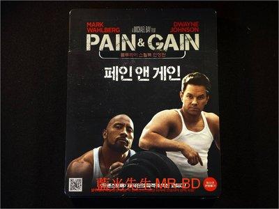 [藍光BD] - 不勞而禍 Pain & Gain 限量鐵盒版