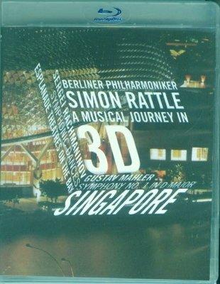 高清藍光碟 Simon Rattle - A Musical Journey in 3D 西蒙.拉特音樂之旅 25G
