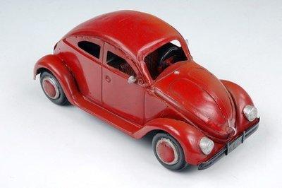 [ 尚霖模型館 ]模型古董車 { Q674-6A } 二次大戰 古董 老爺福斯金龜車