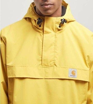 Carhartt WIP Nimbus Pullover Winter Jacket 防水外套 黃色 yellow