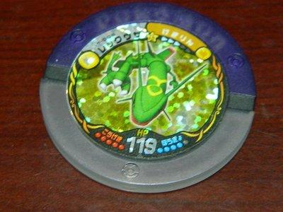 神奇寶貝 日版 戰鬥圓盤 17彈 透明紫 烈空座 17-008 台灣不能刷 僅限收藏