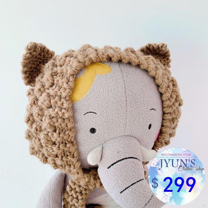 帽子  實拍 新款一秒變身小熊的可愛保暖針織毛線貓耳朵護耳罩 5色JYUN'S預購