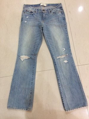Abercrombie & Fitch women's light jeans sz4S  $1000