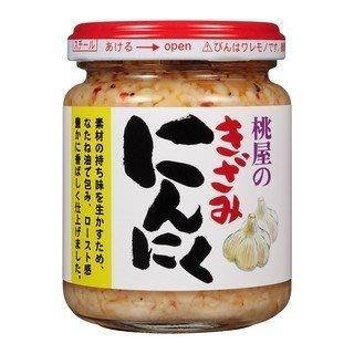 日本桃屋拌飯醬蒜末醬不辣辣油...