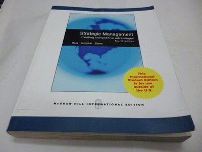 《Strategic Management: Creating Competitive Advantages》ISBN:0071287833│McGraw Hill Higher