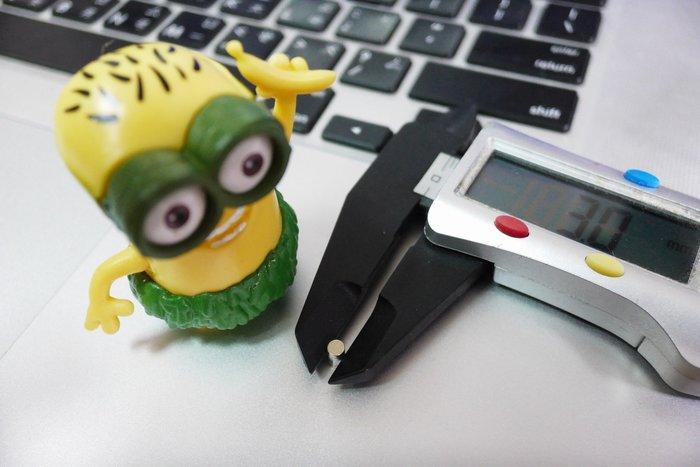 @萬磁王@圓形迷你磁鐵3mmx1mm-小型模型專用磁鐵-1元磁鐵
