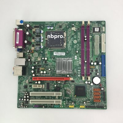 Acer 宏碁 EG31M / 775 / DDR2 / G31晶片 支援四核