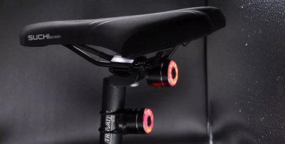 全新 TOWILT TL03 自行車智慧USB充電車尾燈/後燈 自動感應煞車尾燈