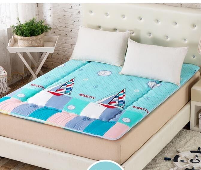 床墊 加厚床墊床褥子單人雙人1.5m1.8m榻榻米學生宿舍可折疊床墊被床褥「稻菏館」