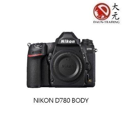 *大元˙台南*【預購 新機上市】NIKON D780 單機身 公司貨 51點 WiFi D750