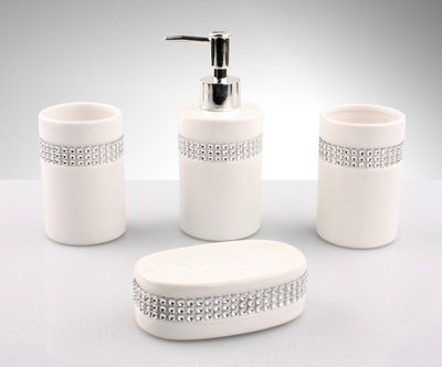 高檔歐式陶瓷衛浴四件組 - CBAS00190