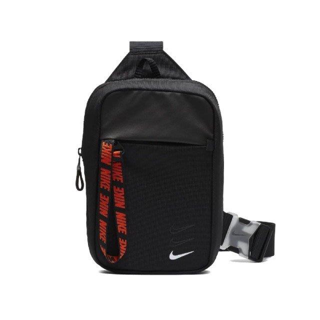 Nike 斜背包 NSW 黑 紅 男女款 腰包 運動休閒 BA6144-010