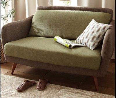 北歐簡約布藝梳化沙發日式雙人三人沙發椅梳化