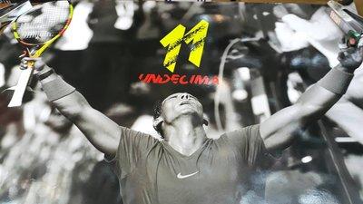 *總統網球*(自取可刷國旅卡)  Rafael Nadal Parera 納達爾 11勝海報