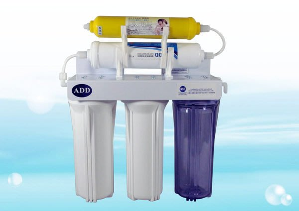 【水易購左營店】簡易五道式淨水器 家用型CT-012 (完整配件組)