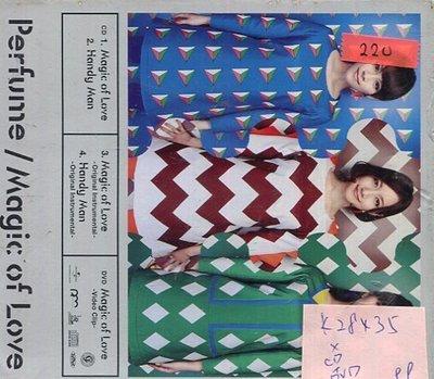 *真音樂* PER F UME / MAGIC OF LOVE CD+DVD 全新 K28435 (殼破)