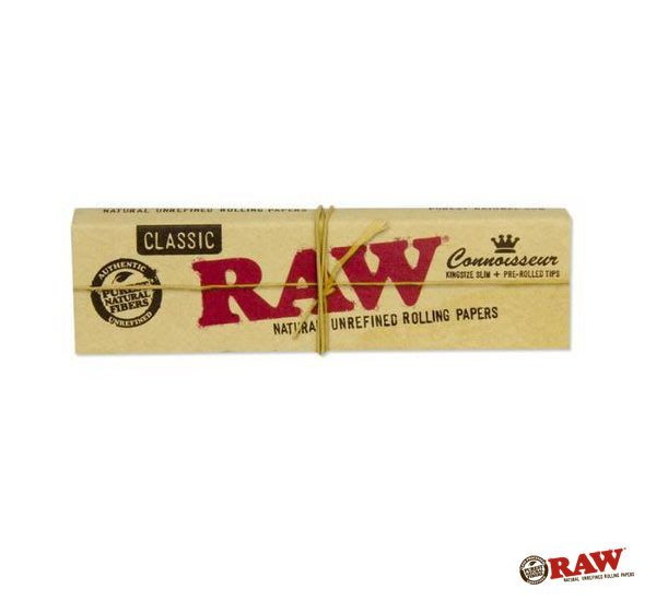 GOODFORIT / 西班牙RAW Connoisseur King Size Slim捲菸組