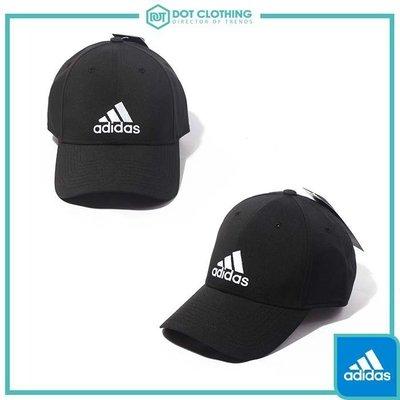 【限時下殺】DOT 聚點 ADIDAS 6PCAP LTWGT EMB 黑 白 刺繡 老帽 滑面 基本款 S98159