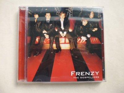 ///李仔糖二手CD唱片*2002年日本THE GOSPELLERS 專輯FRENZY二手CD(k375)