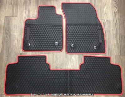 FORD FOCUS MK4 歐式汽車橡膠腳踏墊 橡膠防水腳踏墊 SGS無毒認證 無臭無味