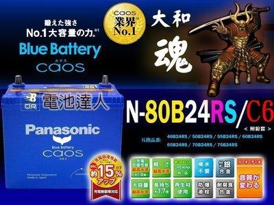 【電池達人】80B24RS 日本國際牌 汽車 電池 VIOS FERIO VIOS FREECA 中華 威力 豐田 瑞獅