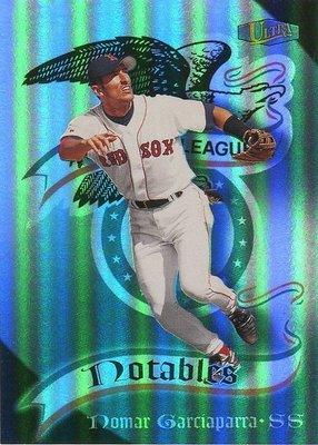(T)紅襪明星游擊手 Nomar Garciaparra 1998 Ultra Notables 特卡