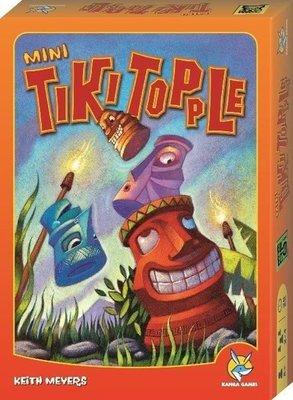 送牌套(正版桌遊)推倒提基 Tiki Topple 大盒版 推倒堤基  繁體中文 OR美版附中文說明書 正版全新盒裝