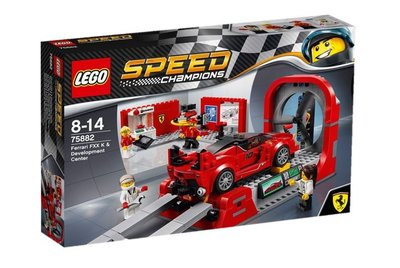 全新樂高 Lego 75882 Speed Champions Ferrari FXX K Development Centre