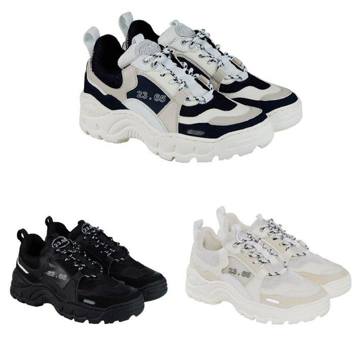 【Luxury】23.65 V2 老爹鞋 厚底鞋 全黑 深藍 白 男女鞋 復古鞋 情侶鞋 韓國代購 正品