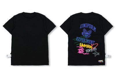 uniform experiment SS19 REVERSIBLE TEE (雙面穿) 短T 兩款
