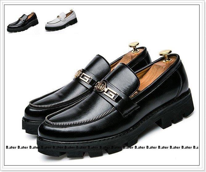 【B.STAR】《ZC025》英倫套腳皮鞋 休閒皮鞋 商務 簡約好穿搭 造型師最愛 任搭兩款免運優惠