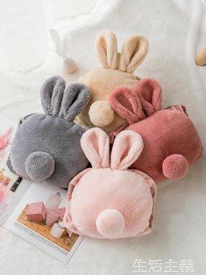 暖手寶 熱水袋充電式防爆暖水袋女敷肚子電暖寶煖寶寶注水毛絨可愛暖手寶