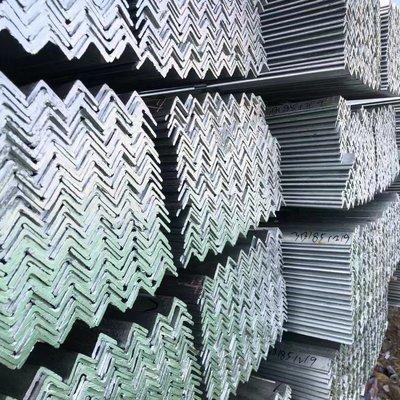 (滿669-50元)鍍鋅角鋼 黑角鋼 304不銹鋼角鋼 沖孔角鋼 角鋼加工規格齊全