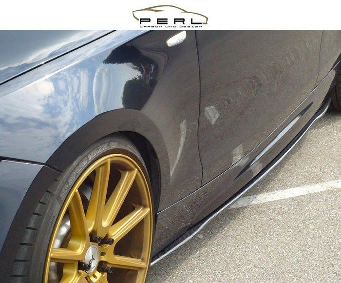 【樂駒】Perl Carbon Design BMW 1er E81 M Paket 側裙 車側 飾板 碳纖維 輕量化