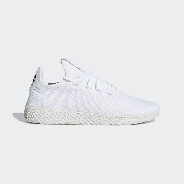 沃皮斯§Adidas Pharrell Williams Tennis Hu 白 女段 休閒鞋 B41792