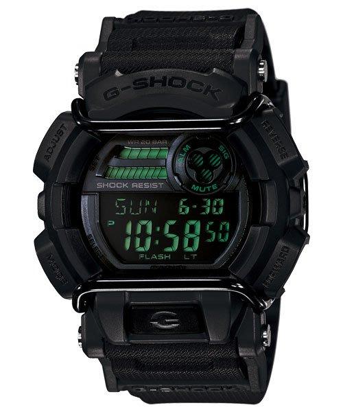 [ㄚ寶3C ] G-SHOCK GD-400MB-1 以霧面黑為主軸,撘配反轉液晶螢幕 防水200米 超亮LED照明