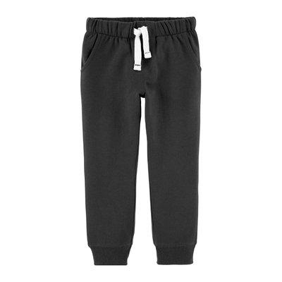 【Carter's】CS男童棉長褲 深灰 F03191003-10