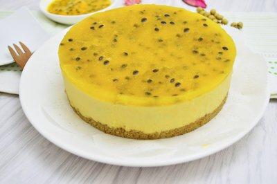 【百香果慕斯蛋糕】(請選低溫宅配)生日蛋糕/彌月蛋糕/父親節蛋糕/ 母親節蛋糕