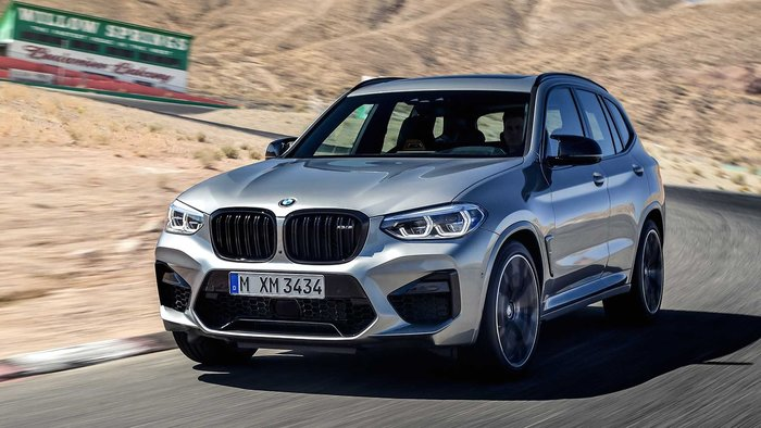 【樂駒】BMW X3M F97 Competition 原廠高亮黑水箱罩 黑鼻頭 空力 外觀 套件